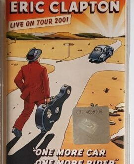 ERIC CLAPTON LIVE ON TOUR 2001 audio cassette