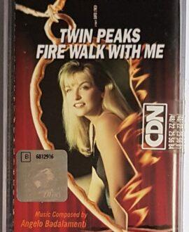 TWIN PEAKS FIRE WALK WITH ME SOUNDTRACK audio cassette