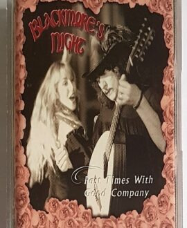 BLACKMORE'S NIGHT PAST TIMES WITH GOOD COMPANY audio cassette