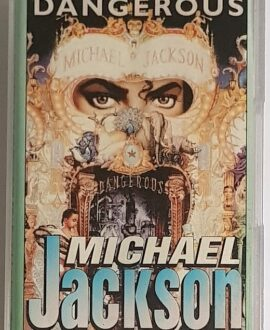 MICHAEL JACKSON DANGEROUS audio cassette