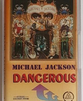 MICHAEL JACKSON DANGEROUS mc audio cassette