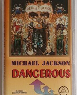 MICHAEL JACKSON DANGEROUS mc audio cassette
