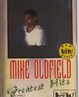 MIKE OLDFIELD GREATEST HITS audio cassette