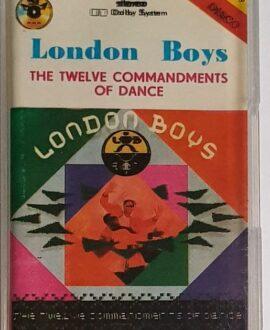 LONDON BOYS THE TWELVE COMMANDENTS OF DANCE audio cassette