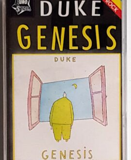 GENESIS DUKE audio cassette