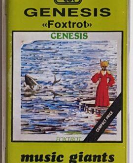 GENESIS FOXTROT audio cassette