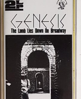 GENESIS THE LAMB LIES DOWN ON BROADWAY audio cassette