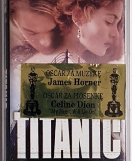 TITANIC MUSIC FROM THE MOTION PICTURE audio cassette