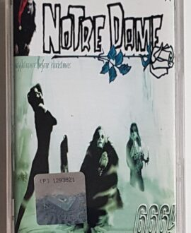 NOTRE DAME NIGHTMARE BEFORE CHRISTMAS audio cassette