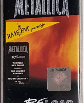METALLICA RELOAD audio cassette