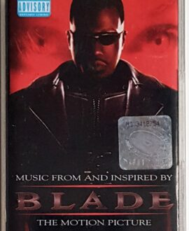 BLADE MUSIC FROM THE MOTION PICTURE SOUNDTRACK audio cassette