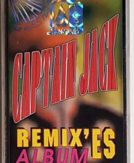 CAPTAIN JACK REMIXES' ALBUM audio cassette