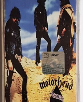 MOTORHEAD ACE OF SPADES audio cassette