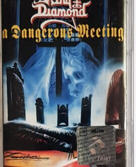 "KING DIAMOND/MERCYFUL FATE ""A DANGEROUS MEETING"" audio cassette"