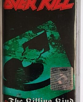 OVERKILL THE KILLING KIND audio cassette