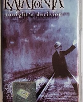 KATATONIA TONIGHT'S DECISION audio cassette