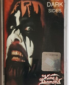 KING DIAMOND THE DARK SIDES audio cassette