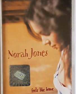 NORAH JONES FEELS LIKE HOME audio cassette