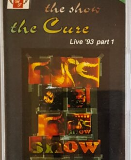 THE CURE LIVE '93 part 1 audio cassette