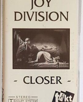 JOY DIVISION CLOSER audio cassette