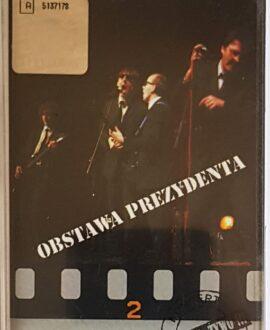 OBSTAWA PREZYDENTA 100% NA ŻYWO audio cassette