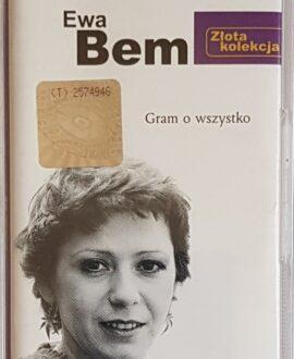 EWA BEM GRAM O WSZYSTKO audio cassette