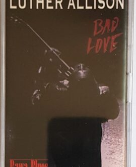 LUTHER ALLISON BAD LOVE audio cassette
