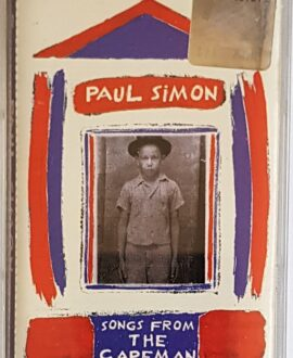 PAUL SIMON SONGS FROM THE CAPEMAN audio cassette