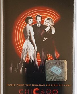 CHICAGO SOUNDTRACK audio cassette