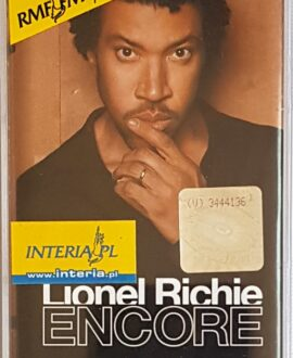 LIONEL RICHIE ENCORE audio cassette