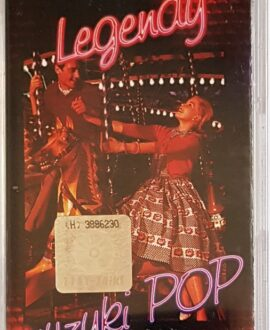 LEGENDS POP MUSIC 4 TEQUILA, KUNG FU FIGHTING...audio cassette