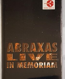 ABRAXAS LIVE IN MEMORIAM audio cassette