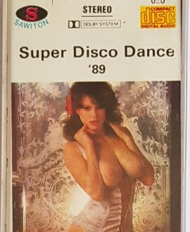 SUPER DISCO DANCE '89 SABRINA, ROY ORBISON.. audio cassette