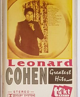 LEONARD COHEN GREATEST HITS audio cassette