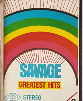 SAVAGE GREATEST HITS audio cassette