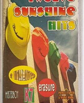 TWELVE SUNSHINE HITS ERASURE, MASTERBOY...audio cassette