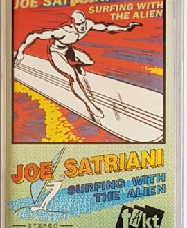 JOE SATRIANI SURFING WITH THE ALIEN audio cassette