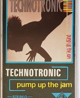 TECHNOTRONIC PUMP UP THE JAM audio cassette