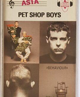 PET SHOP BOYS BEHAVIOUR audio cassette