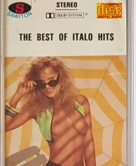 THE BEST OF ITALO HITS TOTO CUTUGNO, AL BANO...audio cassette