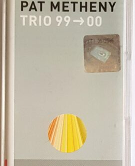 PAT METHENY  TRIO 99-00 audio cassette