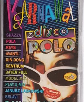 KARNAWAŁ Z DISCO POLO SHAZZA, MODEL M.T. audio cassette