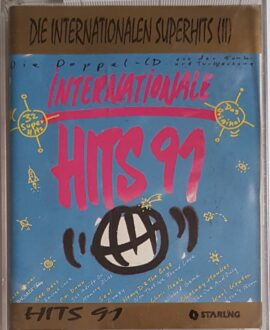 INTERNATIONALE HITS 91 ROXETTE, BLUE SYSTEM.. 2x audio cassette