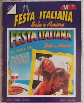 FESTA ITALIANA TOTO CUTUGNO, ALBANO & ROMINA POWER..2x audio cassette