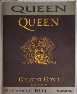 QUEEN GREATEST HITS II audio cassette
