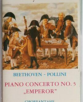 BEETHOVEN PIANO CONCERTO NO.5 audio cassette