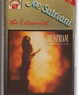 JOE SATRIANI THE EXTREMIST audio cassette