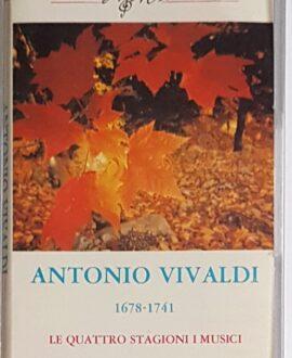 ANTONIO VIVALDI 1678-1741 audio cassette