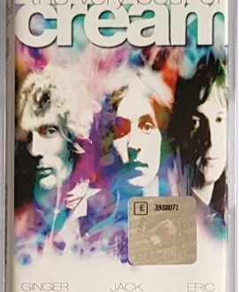 CREAM THE VERY BEST OF audio cassette