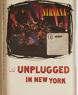 NIRVANA UNPLUGGED IN NEW YORK audio cassette